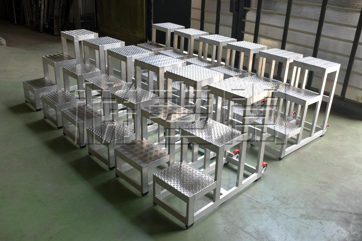 梯老闆訂製三階踏台